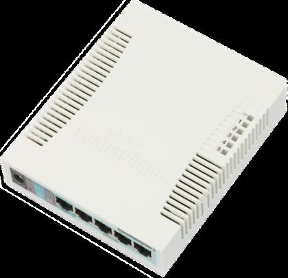 RB260GS - 5 портов управляем суич, SFP