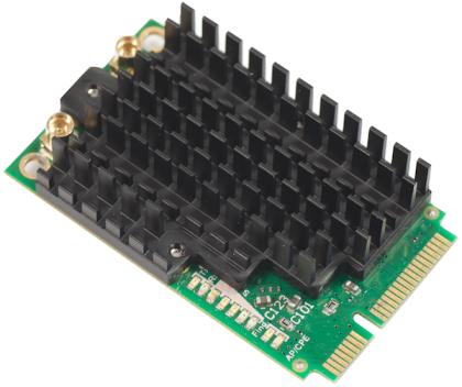 R11e-5HnD High power 4920-5920MHz 802.11a/n dual chain wireless card in miniPCI-e format