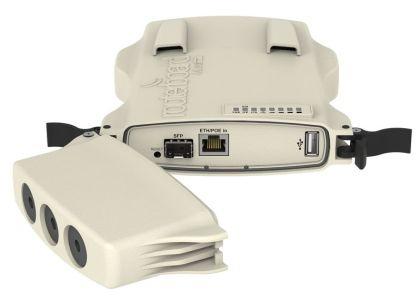NetMETAL 5-2xHP - Двуканално 802.11ac, 5GHz 2000mW Безжично устройство
