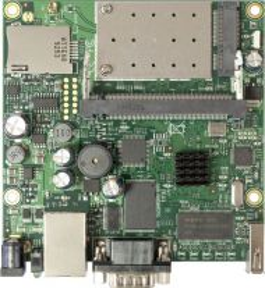 RB411UAHR - MikroTik рутер борд със слот за SIM карта