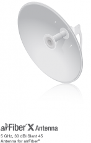 airFiber X Antenna - 5 GHz, 30 dBi Slant 45