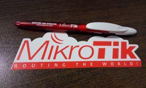 Pen and Sticker MikroTik