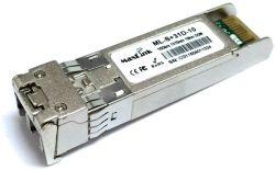 MaxLink 10G SFP+ optical module, SM, 1310nm, 10km, 2x LC connector, DDM