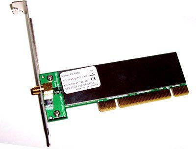 PC-6860 IEEE802.11 a/b/g PCI Adapter, AR5006X