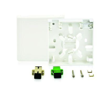 2 CORE FIBER OPTIC TERMINATION BOX