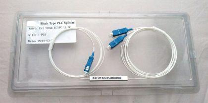 1:2 PLC SPLITTER SC/UPC 900UM 1.5M