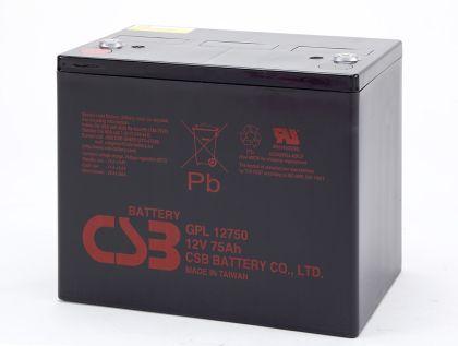 CSB GPL12750 – 12V 75Ah