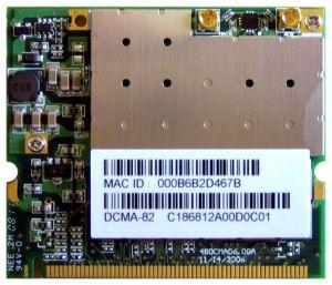 CM11 (DCMA-82) 400mW WLAN 802.11a/b/g mini-PCI Module