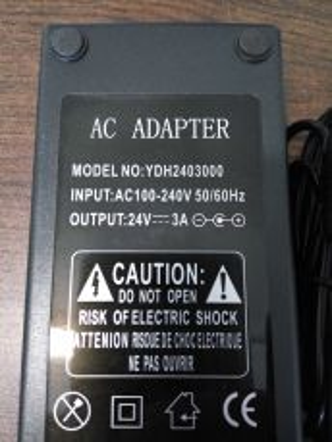 24V 3A Power Supply Unit