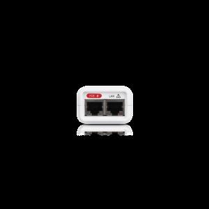 POE-24-7W-G-WH - Гигабитов Захранващ ПОЕ адаптер 24V 0.3А